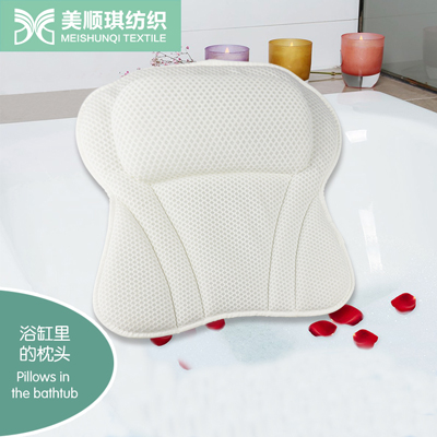 air mesh fabric body bath pillow