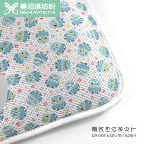 Sandwich mesh fabric baby pillow