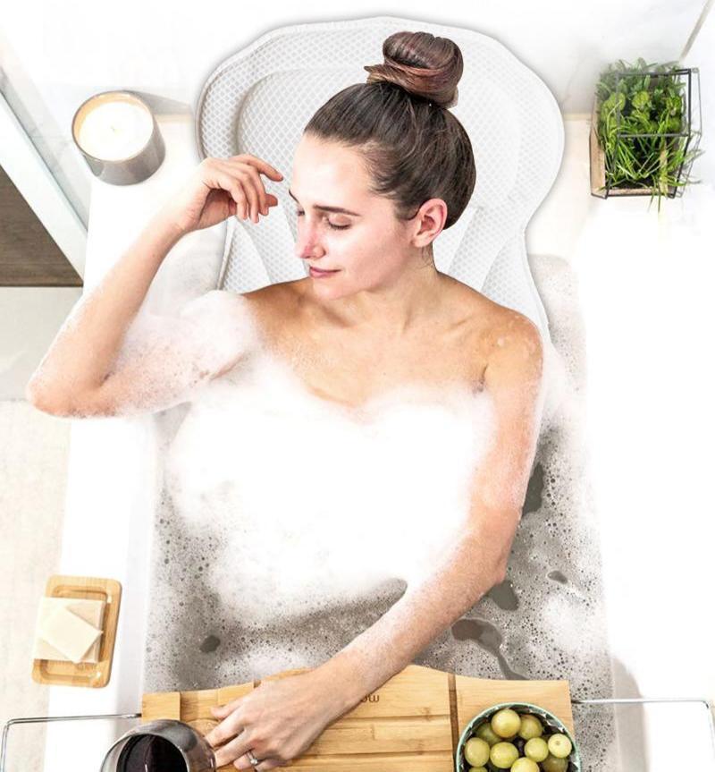 Bath Pillow Effect Image