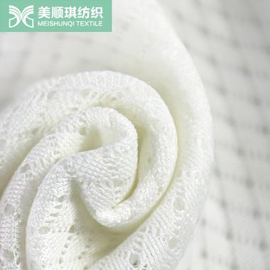 Thin soft breathable sandwich mesh fabric